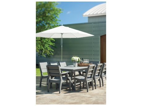 Seaside Casual Sym Recycled Plastic Dining Set