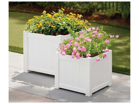 Seaside Casual Wickford Accessory Group Recycled Plastic Planter Set