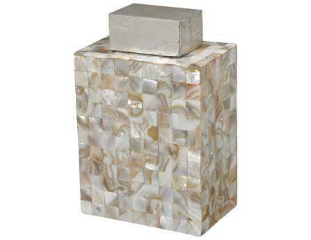Sterling Bolton Mother Of Pearl Urn