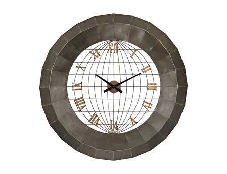 Sterling Oversized Metal Wall Clock