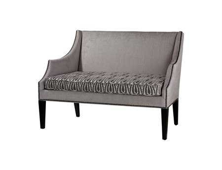 Sterling Ventnor Gray & Silver Loveseat