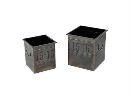 Sterling Industrial Plant Stands (Two Piece Set)