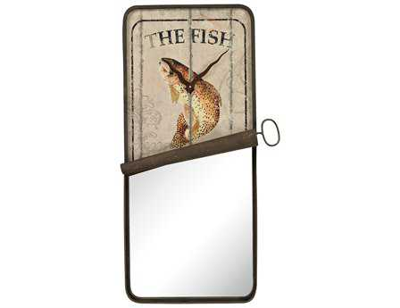 Sterling 19 x 36 Sardine Can Wall Mirror