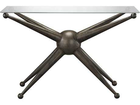 Sterling Pulse Dark Bronze 46''L x 16''W Rectangular Console Table