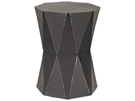 Sterling Origami Black Accent Stool