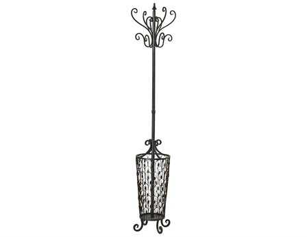 Sterling Bronze with Umbrella Stand & Coat Rack