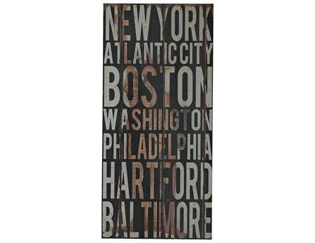 Sterling American Cities I Wall Art
