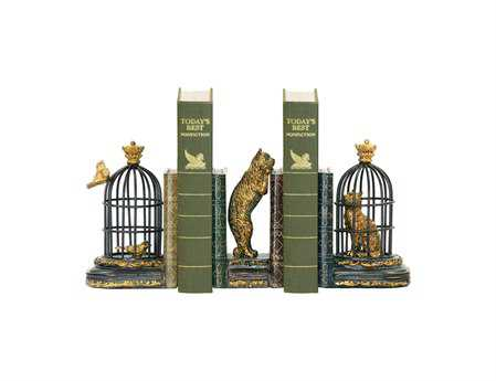 Sterling Set Trading Places Book Ends