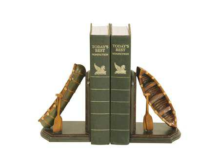 Sterling Pair Camp Woebegone Book Ends