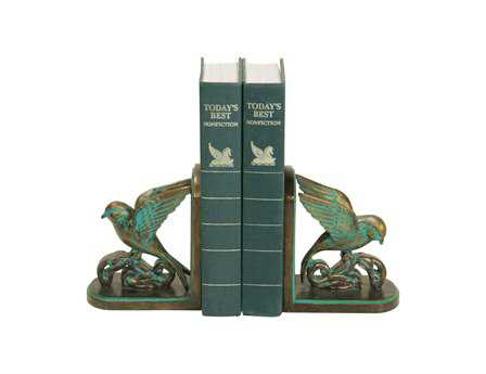 Sterling Pair Chastain Book Ends