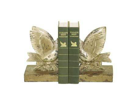 Sterling Pair Taking Flight Book Ends