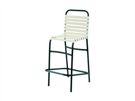 Suncoast Sanibel Strap Aluminum Side Bar Stool