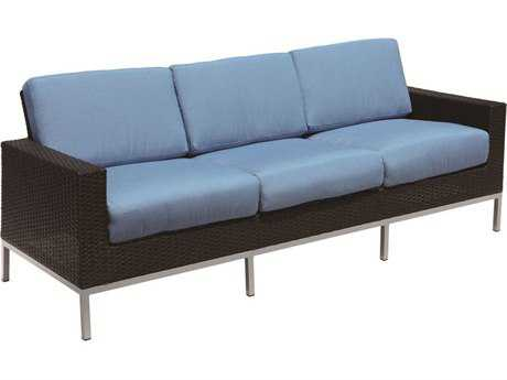 Suncoast Avenir Wicker Cushion Sofa PatioLiving