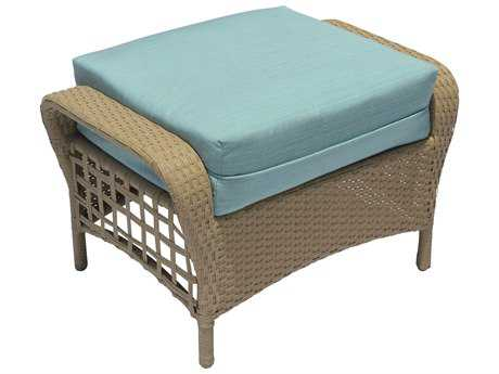 Suncoast Sedona Wicker  Ottoman