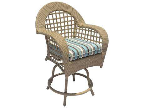 Suncoast Sedona Wicker Gathering Height Chair
