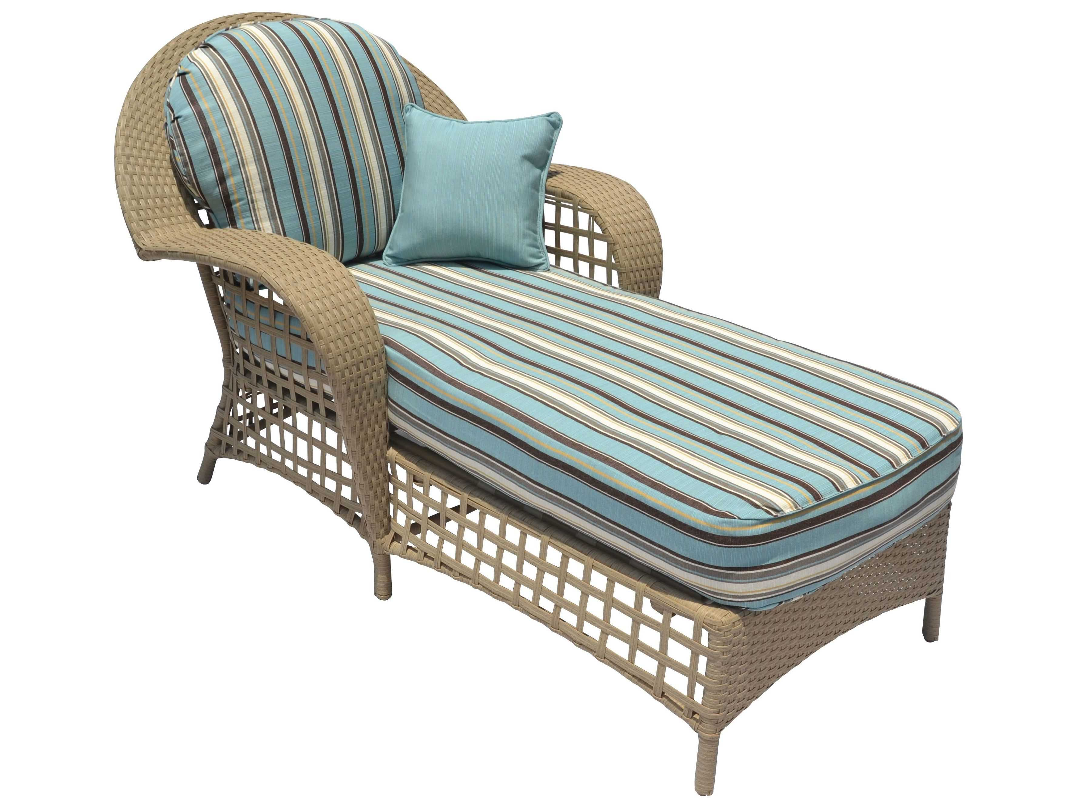 Suncoast sedona wicker chaise lounge su12933 for Bamboo chaise lounge