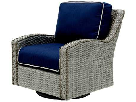 Suncoast Haven Wicker Leisure Swivel Glider