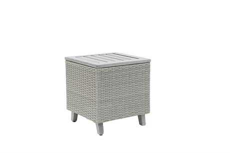 Suncoast Haven Wicker 23'' Square End Table