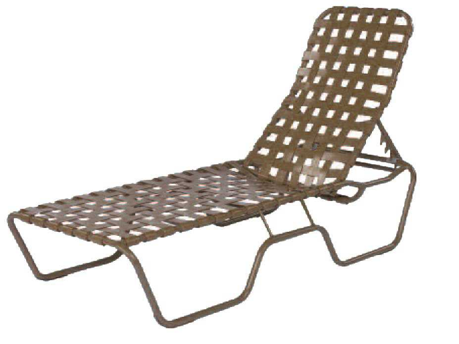 Suncoast sanibel cross strap cast aluminum chaise lounge for Cast aluminum chaise