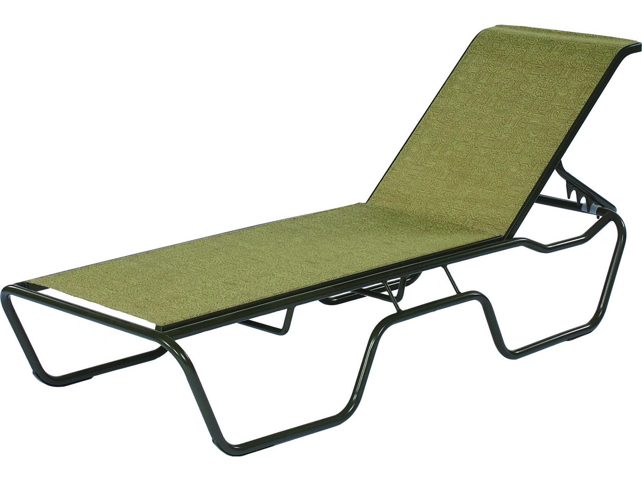 Suncoast sanibel sling cast aluminum stackable chaise 1913 for Chaise longue aluminium