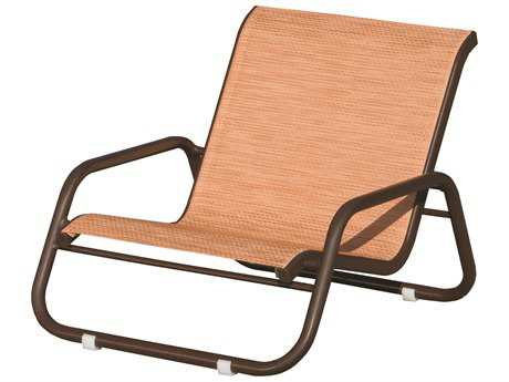 Suncoast Sanibel Sling Cast Aluminum Arm Lounge Chair