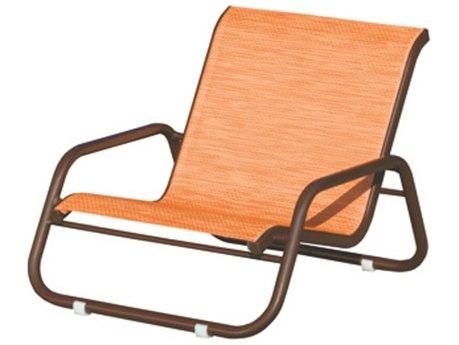 Suncoast Sanibel Sling Cast Aluminum Sand Lounge Chair