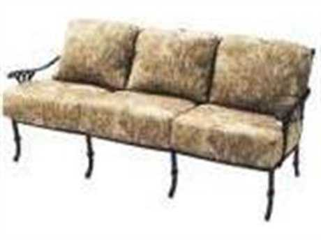Suncoast Olympia Cast Aluminum Cushion Sofa