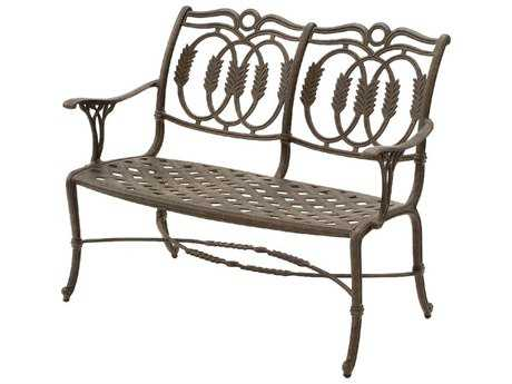 Suncoast Olympia Cast Aluminum Metal Arm Bench