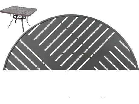Suncoast Slat Aluminum 42 x 22 Rectangular Coffee Table