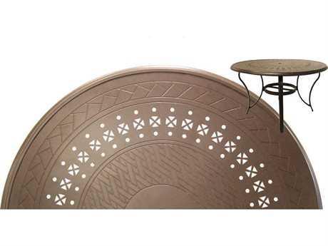 Suncoast Impression Aluminum 24 Round Side Table