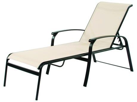 Suncoast Rosetta Sling Cast Aluminum Chaise Lounge