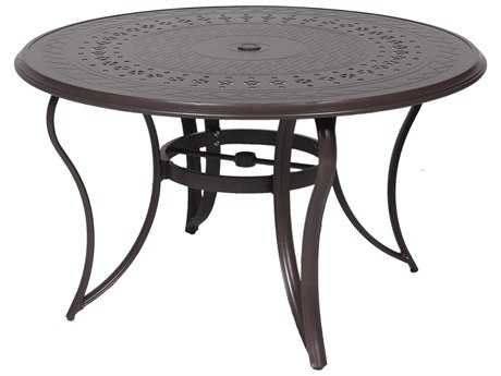 Suncoast Impression Aluminum 48 Round Dining Table