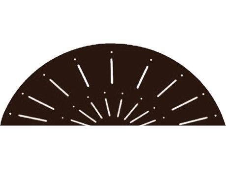Suncoast Aluminum Verona Design 48''Wide Round Dining Table with Umbrella Hole