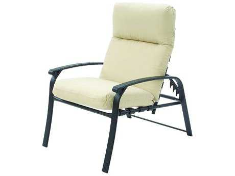 Suncoast Rosetta Cushion Cast Aluminum Arm Adjustable Lounge Chair