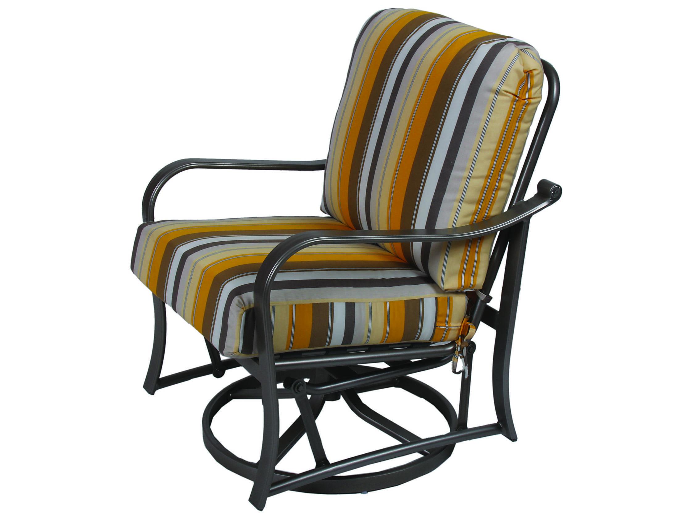 Suncoast Rosetta Cast Aluminum Swivel Glider Lounge Chair ...