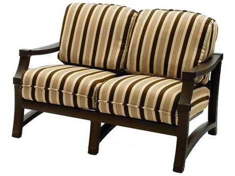 Suncoast Devereaux Cushion Cast Aluminum Loveseat