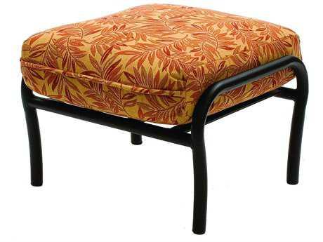 Suncoast Rendezvous Cushion Cast Aluminum Ottoman