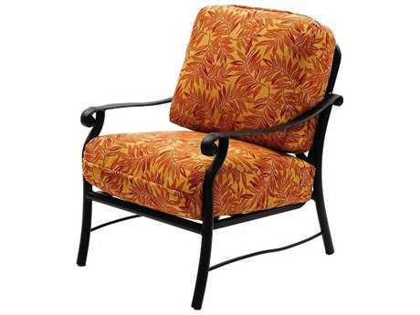 Suncoast Rendezvous Cushion Cast Aluminum Arm Lounge Chair