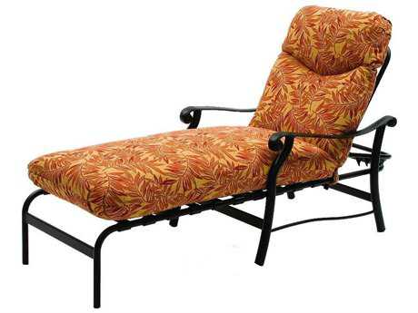 Suncoast Rendezvous Cushion Cast Aluminum Arm Chaise