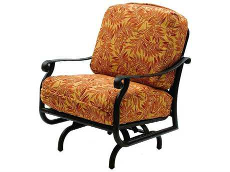 Suncoast Rendezvous Cushion Cast Aluminum Arm Glider Lounge Chair