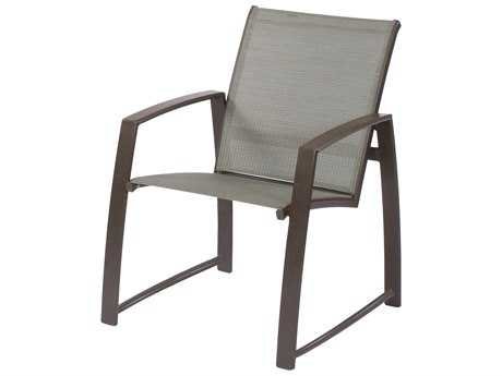 Suncoast Vision Sling Dining Chair with Arm Brace
