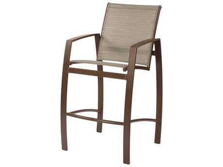 Suncoast Vision Sling Cast Aluminum Arm Bar Stool