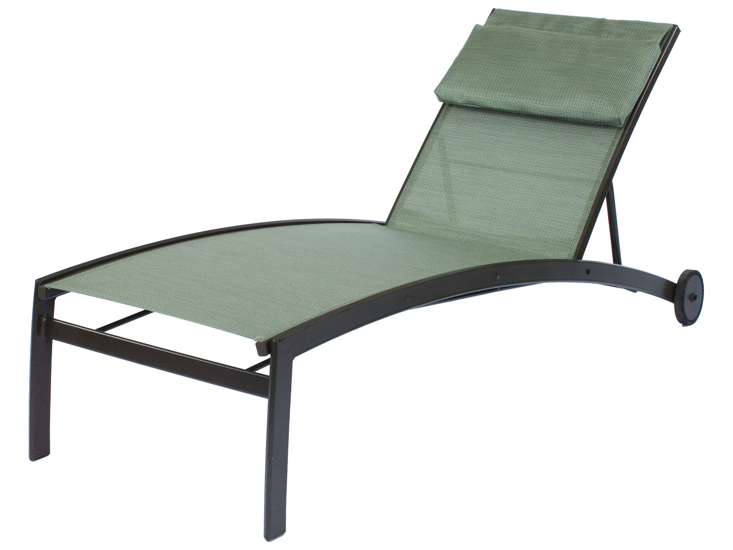 Suncoast vision sling cast aluminum chaise 7913 for Cast aluminum chaise