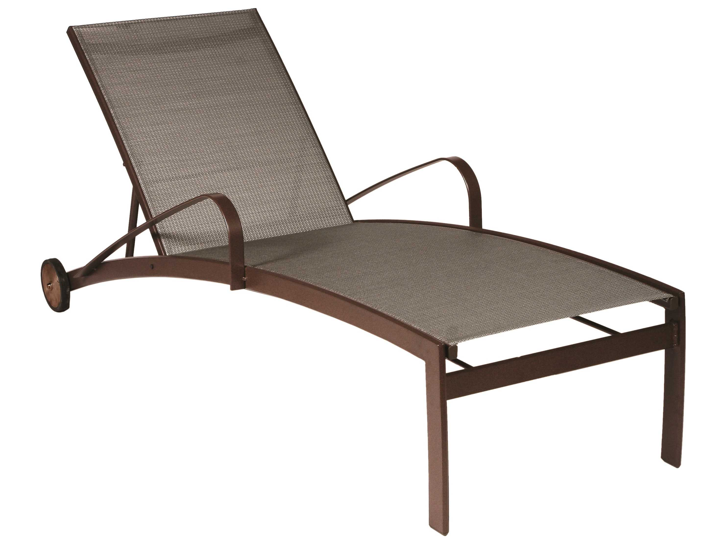 Suncoast vision sling cast aluminum chaise lounge with for Aluminum chaise lounges