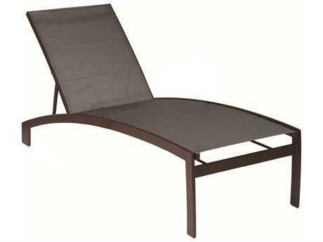 Suncoast Vision Sling Cast Aluminum Chaise Lounge
