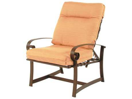 Suncoast Orleans Cushion Cast Aluminum Arm Adjustable Lounge Chair