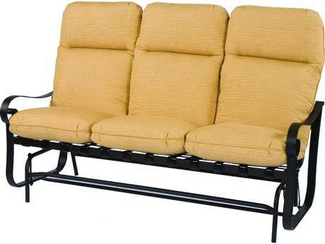 Suncoast Orleans Cushion Cast Aluminum Glider Sofa