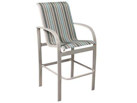 Suncoast Maya Sling Cast Aluminum Bar Stool