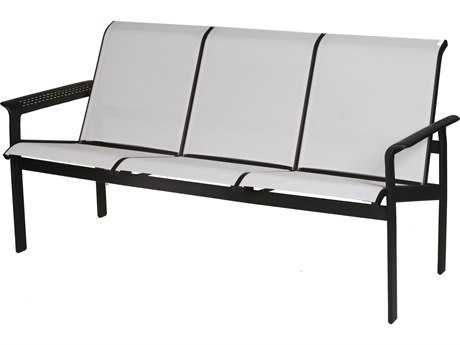 Suncoast South Beach Sling Cast Aluminum Sofa SU9210