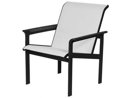 Suncoast South Beach Sling Cast Aluminum Arm Lounge Chair